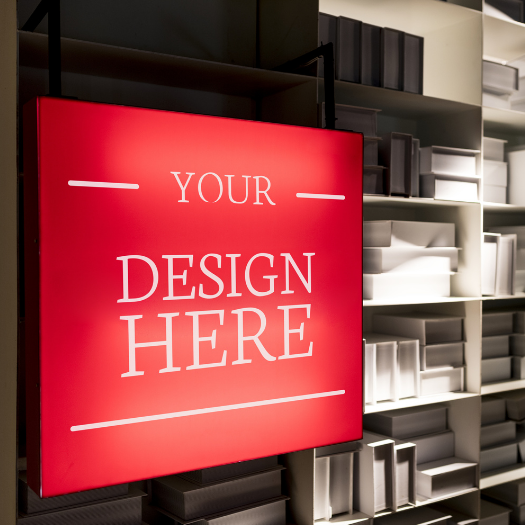 Your Design Here sign